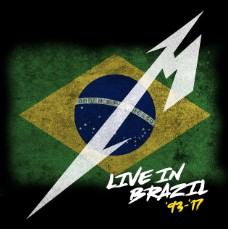 CD Live In Brazil (1993 – 2017) - Metallica