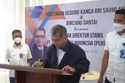 Sunarso Resmikan Gedung Baru BRI Saumlaki di Perbatasan Indonesia