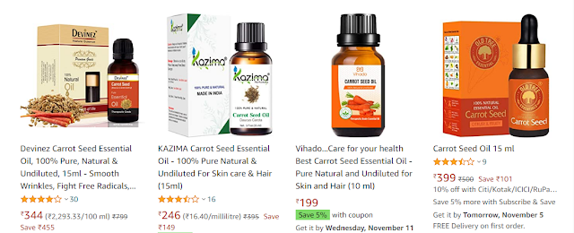 carrot essential oil business, carrot essential oil price on amazon