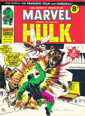 Mighty World of Marvel #142, the Hulk and Ant-Man