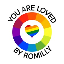 You are loved by Romilly.