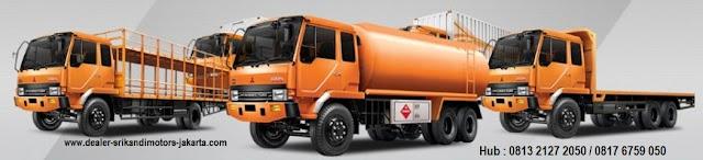kredit dp ringan mitsubishi fuso - dump truck - box - bak - tangki - 2018