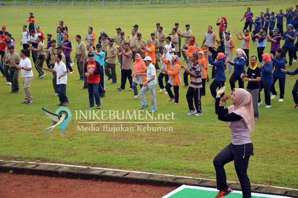 Pertandingan Bola Antara Forkompimda dan DPRD di Stadion Chandradimuka Kebumen Batal Digelar