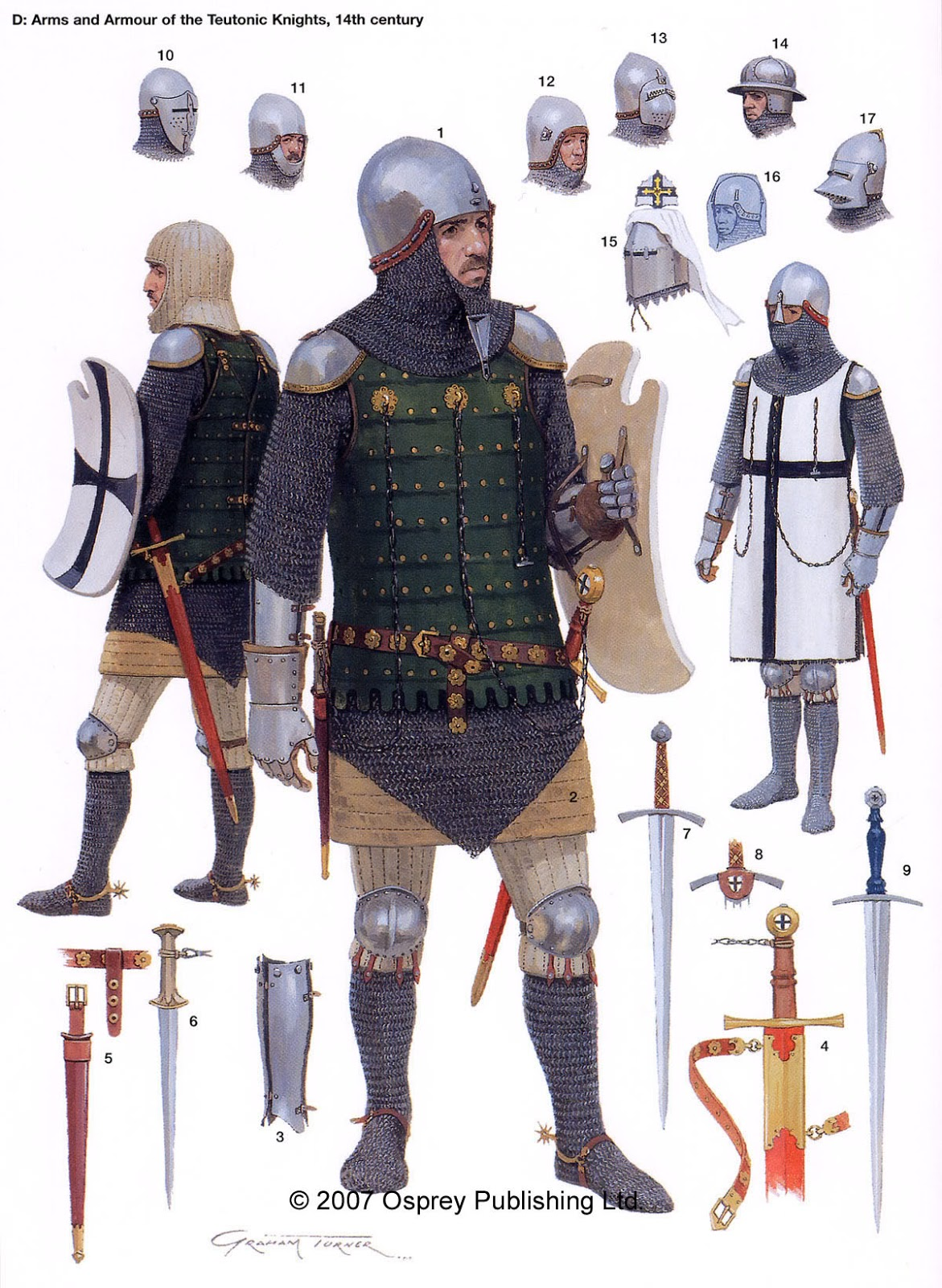 Plastic 28mm 13th Century English Foot Knights by ...