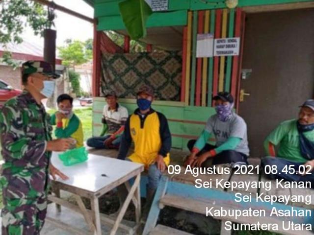 Komunikasi Sosial Dilaksanakan Personel Jajaran Kodim 0208/Asahan Jalin Silaturahmi