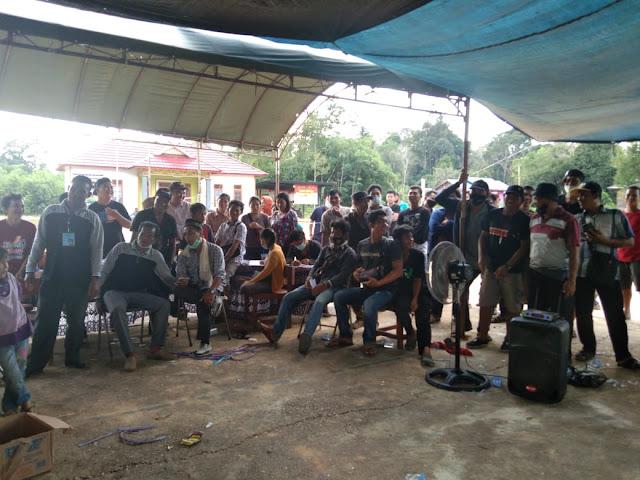 Pilkades serentak 9 Juni 2021 di Desa Bahitom Sudah Memasuki Perhitungan Suara