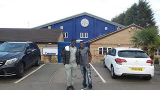 Ali Nuhu And Ahmed Musa In Leicester (Pics)
