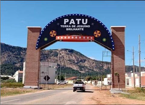 Patu em Foco: Pórtico de entrada da cidade de Patu (RN)