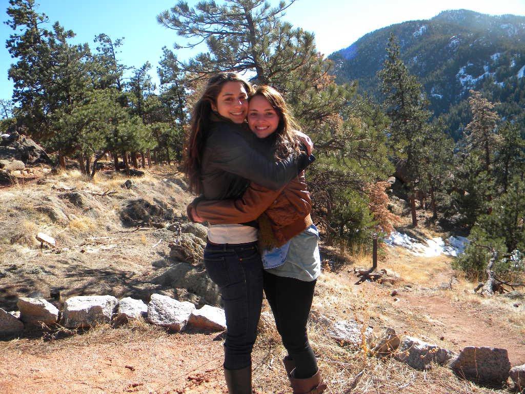 Best friends in boulder