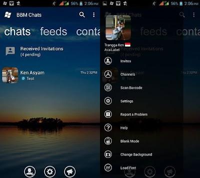 BBM Mod Windows Phone v3.2.5.12 Apk Terbaru 2017