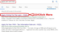 how to make a pan card online