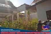 Kantor Kecamatan di Jember Yang Ambruk Dua Tahun lalu Ditanami Jagung