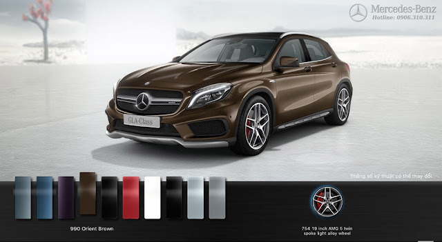 Mercedes AMG GLA 45 4MATIC 2018