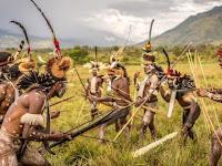 Saksikan Pertama Dalam Festival Di Papua Pemecahan Rekor MURI Ke 2 (Noken Raksasa) di Festival Lembah Baliem 2019