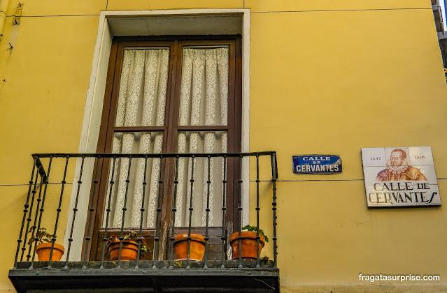 Rua Cervantes, Bairro das Letras, Madri