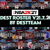 [LATEST UPDATE] NBA 2K21 DEST ROSTER V21.07.20 (July 20, 2021)  + 99  Teams (WITH FIBA TEAMS)  AIO by destteam