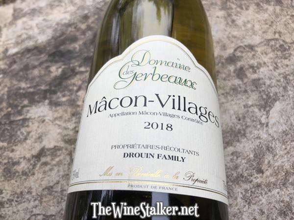 Domaine des Gerbeaux Macon-Villages 2018
