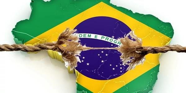 A economia brasileira encolheu 0,2% de janeiro a março em relação ao trimestre anterior.