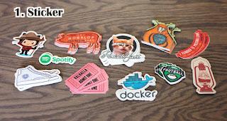 Sticker adalah Souvenir Dengan Budget Hemat Yang Tepat untuk Promosi Perusahaan