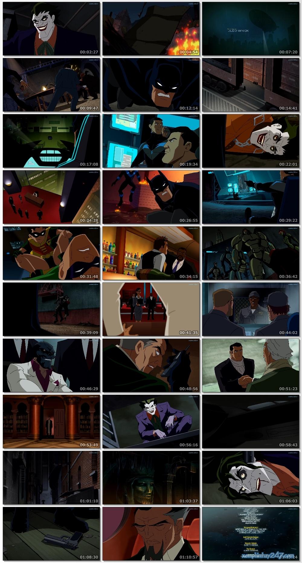 http://xemphimhay247.com - Xem phim hay 247 - Người Dơi: Đối Đầu Với Mặt Nạ Đỏ (2010) - Batman: Under The Red Hood (2010)