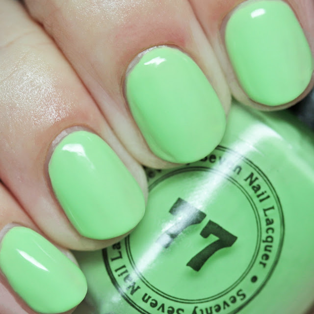Seventy-Seven Nail Lacquer With You, Anything Is Possible