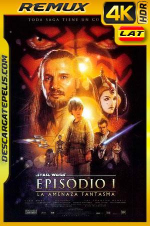 Star Wars Episodio I: La amenaza fantasma (1999) 4K BDRemux HDR Latino – Ingles