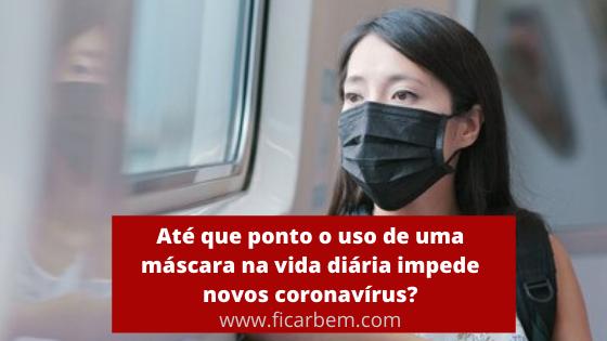 As máscaras faciais podem ajudar a prevenir a propagação da doença por coronavírus ?