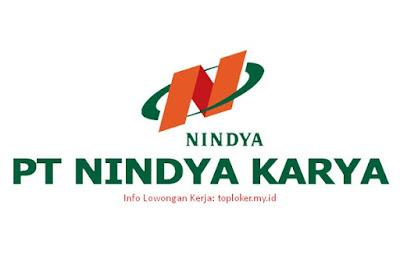 Lowongan Kerja PT NINDYA KARYA (Persero) Tingkat SMK Desember 2019