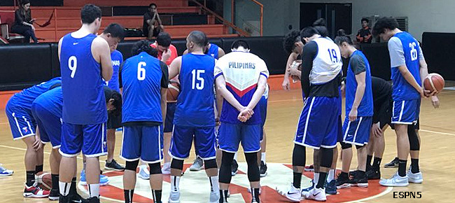 Gilas Pilipinas' First Practice for the Fourth Window of the FIBA World Cup Asian Qualifiers (VIDEO) September 3