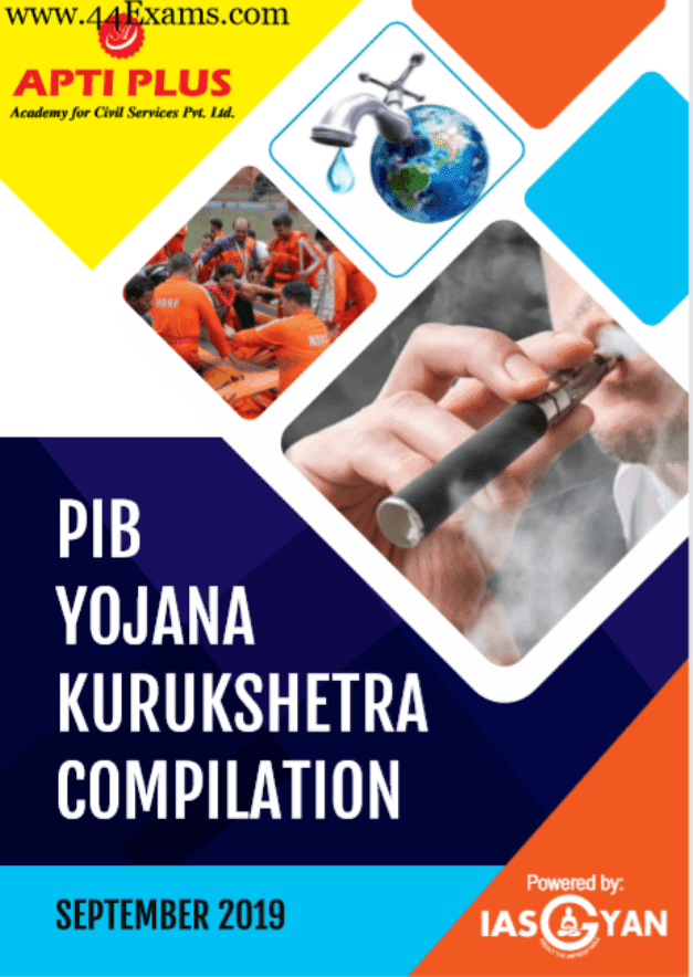 Apti-Plus-PIB-Yojana-Kurukshetra-Compilation-September-2019-For-UPSC-Exam-PDF-Book