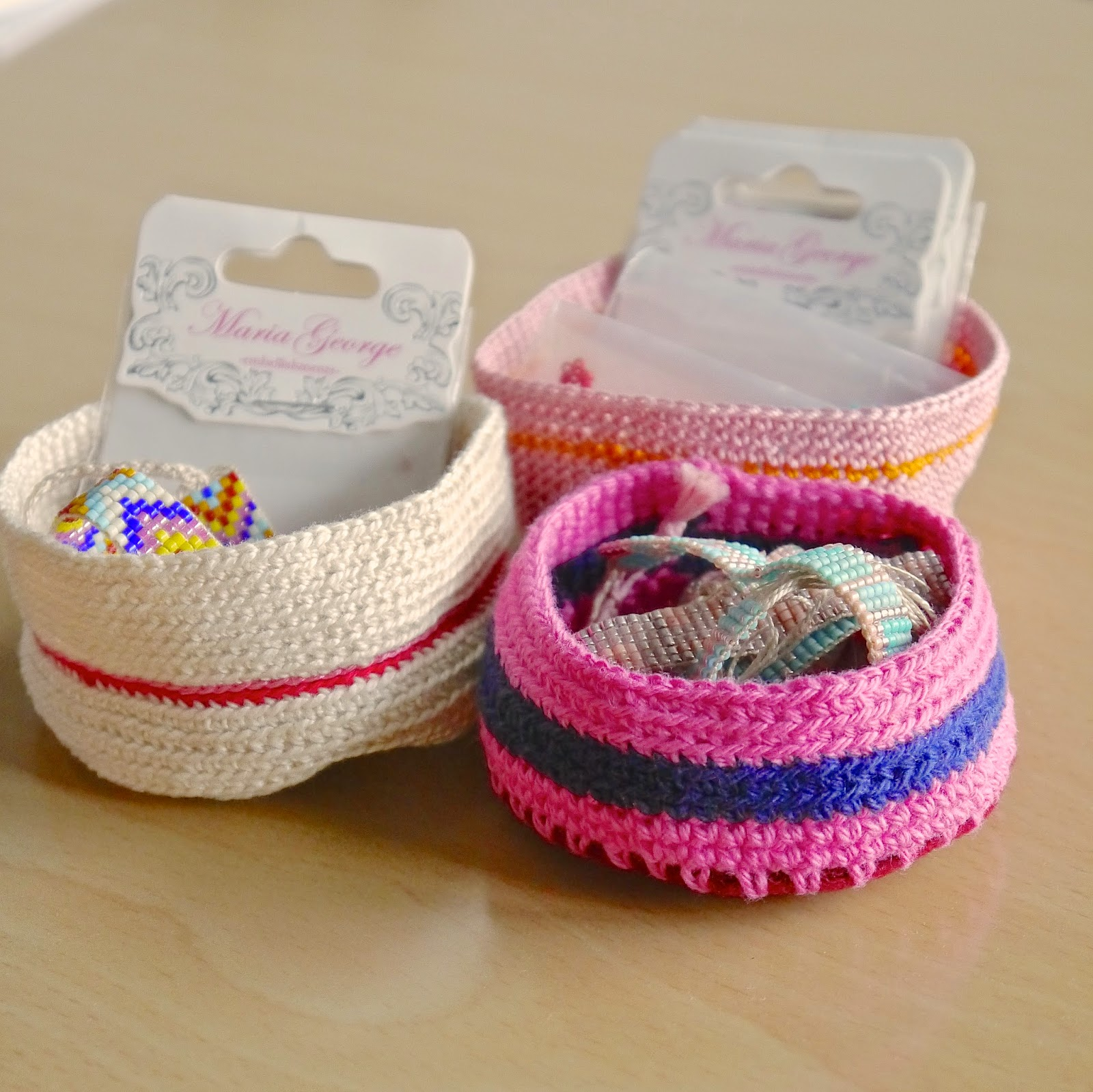 Make it // Crochet Mini bowls