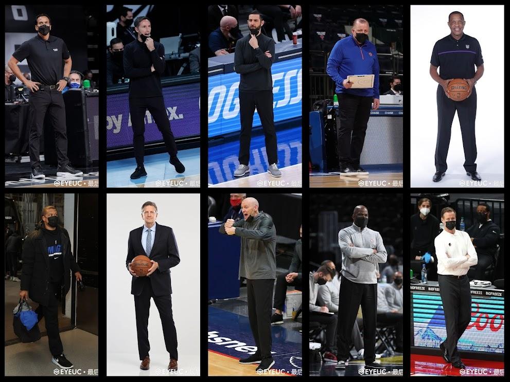 NBA 2K21 Coach Updated Full Body Portraits Pack by Li Arui