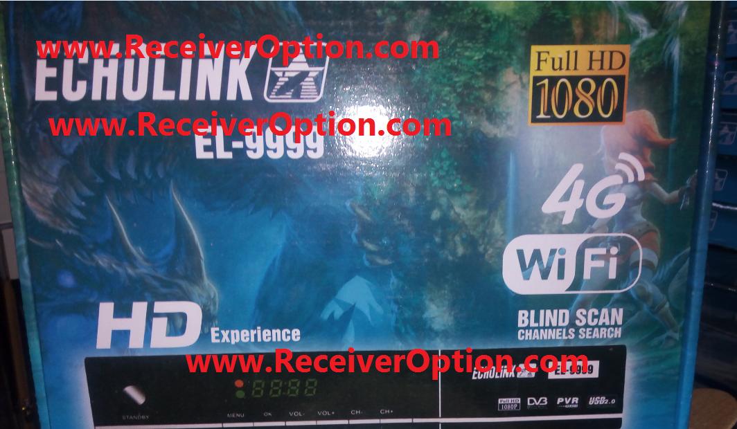 ECHOLINK EL-9999 HD RECEIVER CLINE OK NEW SOFTWARE - HOW TO ENTER