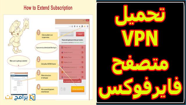 شرح + تحميل اضافة تغيير الاي بي للفايرفوكس Hide My IP VPN