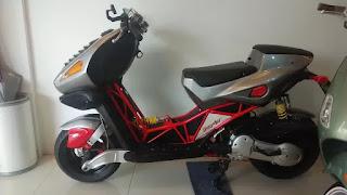 Motor Langka...Jarang Ada DI Indo..Italjet Dragster 180 - JAKARTA