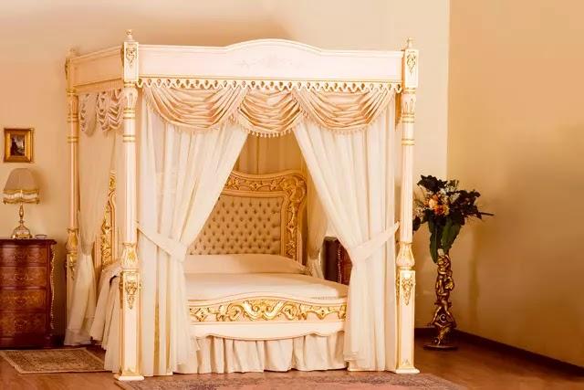 107 kilo 24 ayar altından yapılan Baldacchino Supreme, dünyanın en pahalı yatağı unvanına sahip.