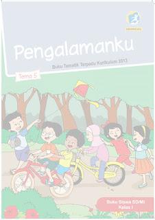 Buku Tematik Kelas 1 Tema 5 Pegangan Siswa reivisi