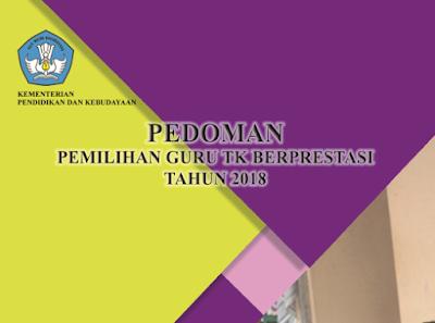Pedoman Pemilihan Guru TK Berprestasi 2018