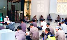 Salah Satu Cara Mendekatkan Diri Dengan Allah, Polres Sidrap Gelar Yasinan dan Doa Bersama