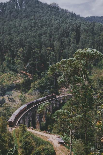 Sri Lanka, pociąg