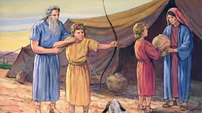 Isaque e Esaú, Rebeca e Jacó