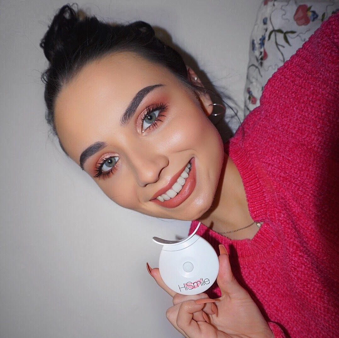 Hismile Teeth Whitening Kit Review Before After Rebekah
