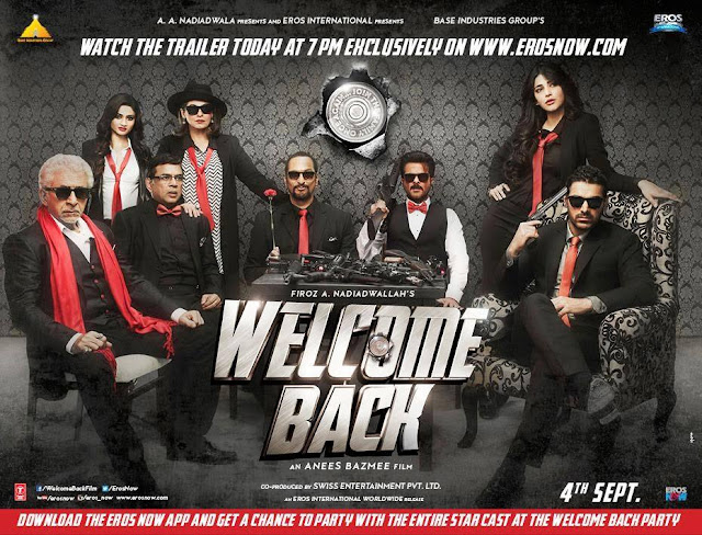 Welcome Back Movie Releasing Date, Trailer