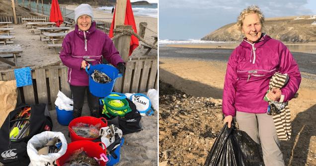 Эта 70-летняя женщина очистила от мусора 52 пляжа!