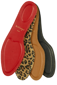 Red Carpet Paris luxury leather insoles