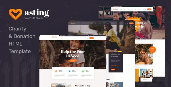 Best Charity and Donation HTML Template
