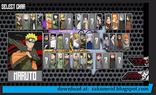Download Naruto Senki Mod Naruto Legends Ninja Adventure Apk