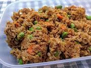 Paistettu riisi, fried rice