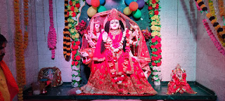 मां भगवती धाम मंदिर का चौथा स्थापना दिवस धूमधाम से मनाया