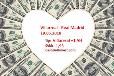 Villarreal - Real Madrid 19.05.2018 - Cash Bet Invest
